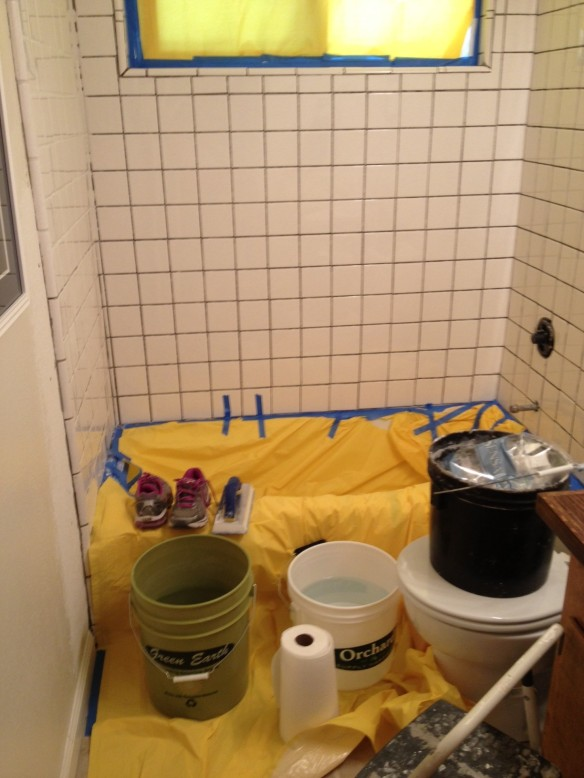 Before grouting